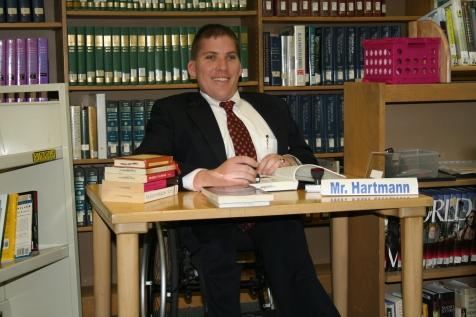Patrick Hartmann Trinity High School Library