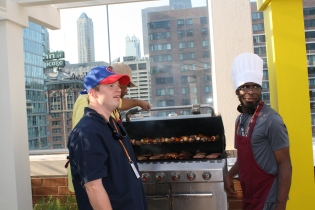 Dan & Hector - TVC Rooftop BBQ for the Lurie Ronald McDonald House