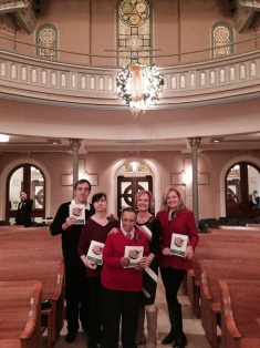TVC Volunteers enjoyed hosting the 20th annual Deck the Hall Concert at Old St. Patrick's