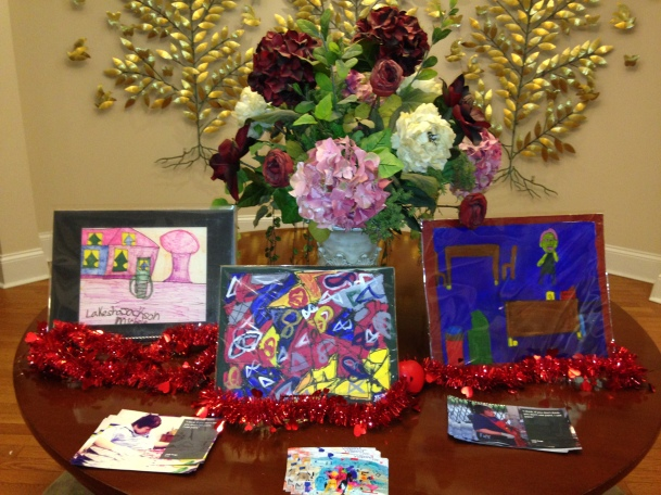 Arts of Life paintings welcome visitors to the RMH in Hyde Park for VC14