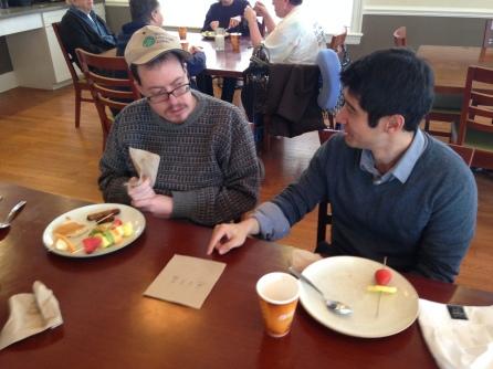 Breakfast Buddies Derek & Brian