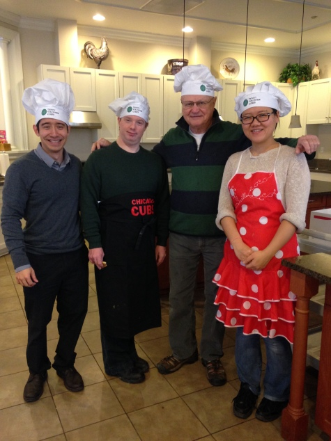 Chefs are ready for VC14 Pancake Breakfast at Comer RMH