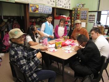 Gary Elementary School welcomed Trinity Volunteers to serve as lead classroom