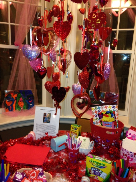 Hyde Park RMH Valentine Making Station 2014
