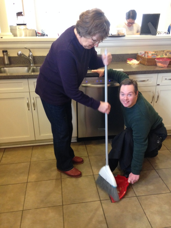 Mother & Son Clean Up Crew