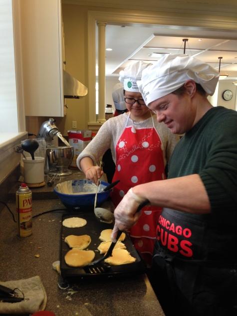 Pancake Chefs Shelley & Dan